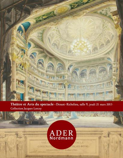 Théâtre et arts du spectacle - Collection Jacques Lorcey