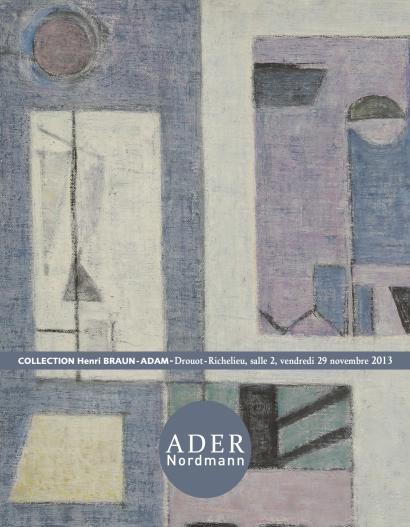 Tabeaux modernes et contemporains - Collection Henri Adam Braun