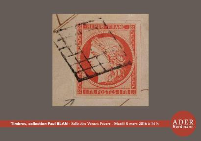 Timbres & histoire postale - Collection Paul BLAN