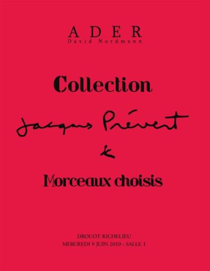Collection Jacques Prévert