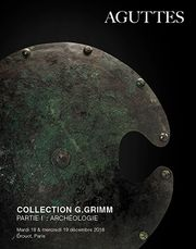 Collection G.Grimm - Partie I : Archéologie - 1ere session