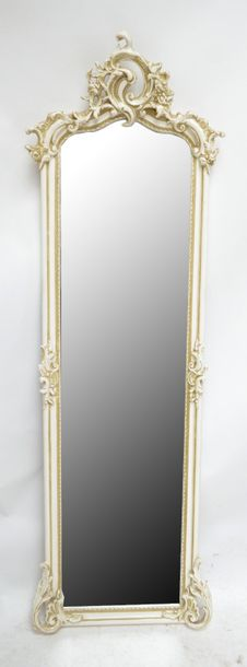 Auction An Ornate Full Length Wall Mirror