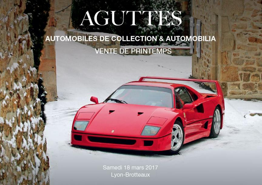 vente aux encheres automobiles de collection automobilia aguttes. Black Bedroom Furniture Sets. Home Design Ideas