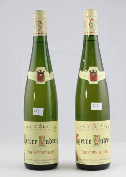 vente aux ench res 2 domaine pierre ludwig tokay pinot gris 1997. Black Bedroom Furniture Sets. Home Design Ideas