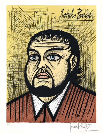 Vente aux ench res bernard buffet bernard buffet don for Bernard buffet vente