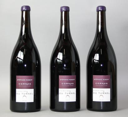 vente aux ench res 3 magnums cornas domaine du tunnel 2014. Black Bedroom Furniture Sets. Home Design Ideas