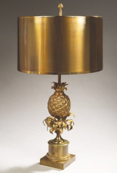 Auctions Maison Charles Lampe Ananas Structure Neoclassi