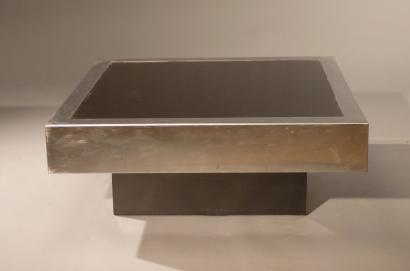 Auctions Willy Rizzo Ne En 1928 Table Basse A Plateau Ca