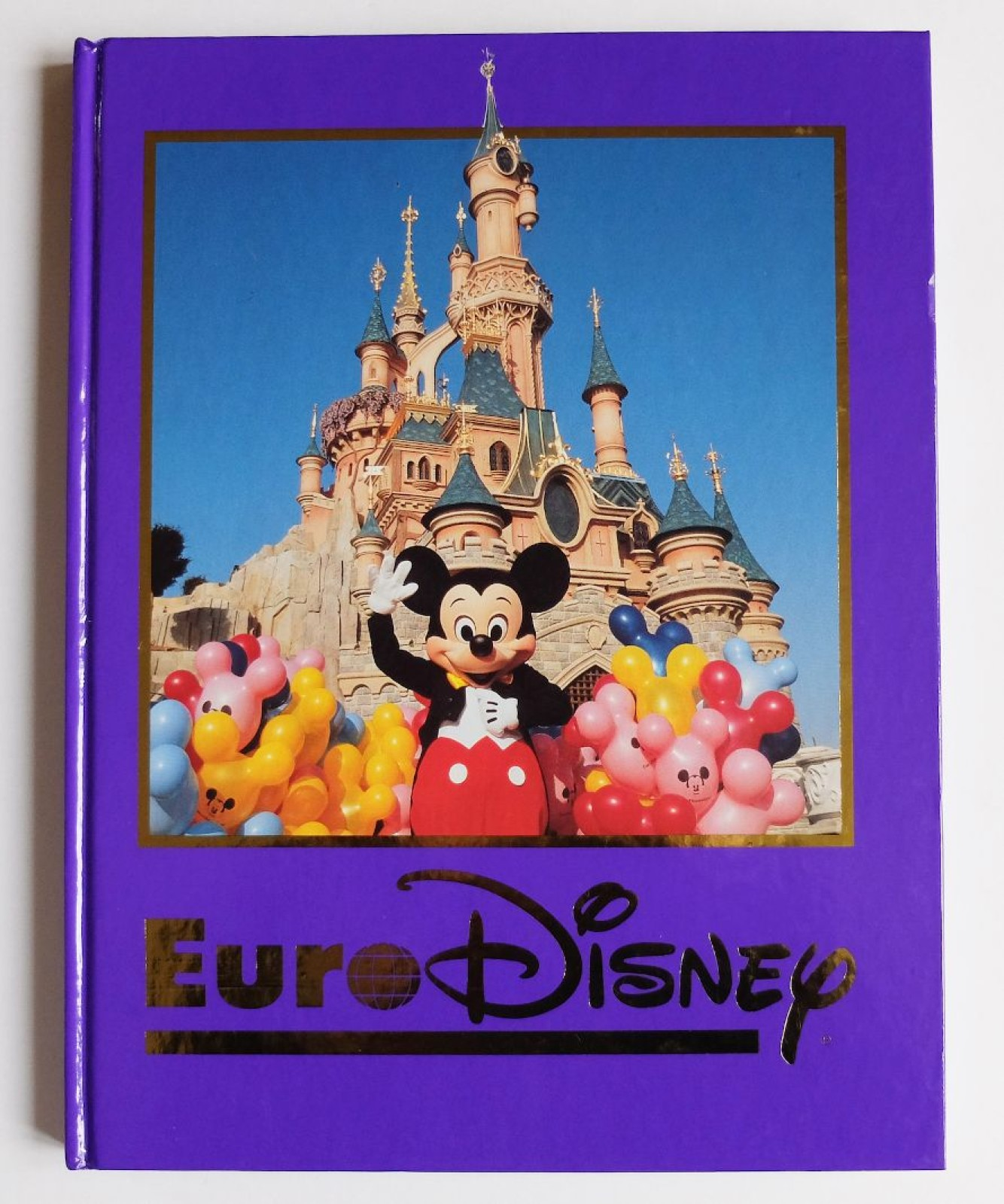Auctions Livre Souvenir Euro Disney Euro Disneyland Version