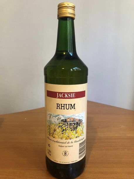 1 bouteille Rhum, Jacksie, Guadeloupe, 100cl