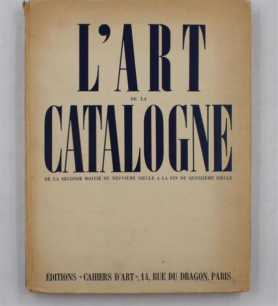 ART ( sur le thème de l'art Occidental) Lot de sept ouvrages : - Atlas de l'art…