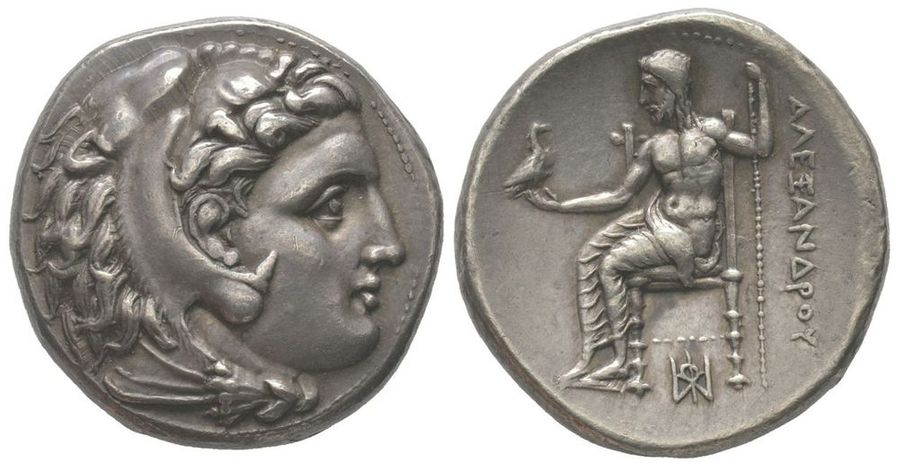 GREEK COINS Tetradrachm, Miletus, 323-319 BC, 17.05g.  Ref : Price 2177  Provenance…