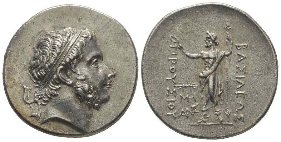 GREEK COINS Kingdom of Bithynia  Prusias I (238-183 13 c.)  Tetradrachm, AG 16.75…