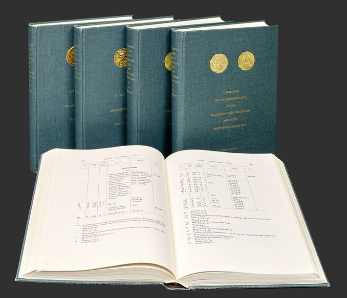 BELLINGER A., GRIERSON, P. Catalogue ot the Byzantine coins in the Dumbarton oaks…