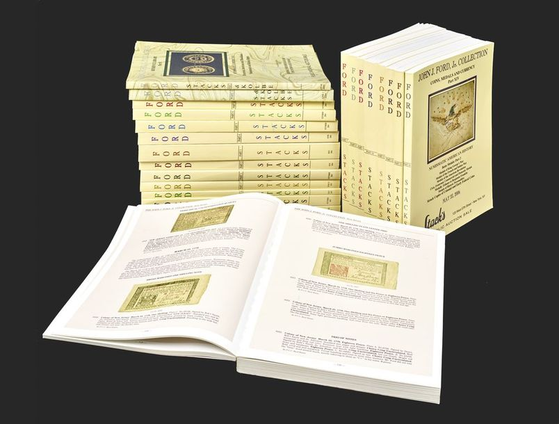 Stack's: the John J. Ford, Jr. Collection: Coins, medals and currency: Vol. 1-21…
