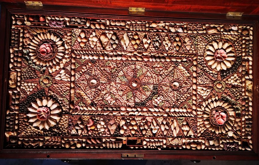 Collectors chest: A rare Georgian colonially built mahogany collectors chest with…