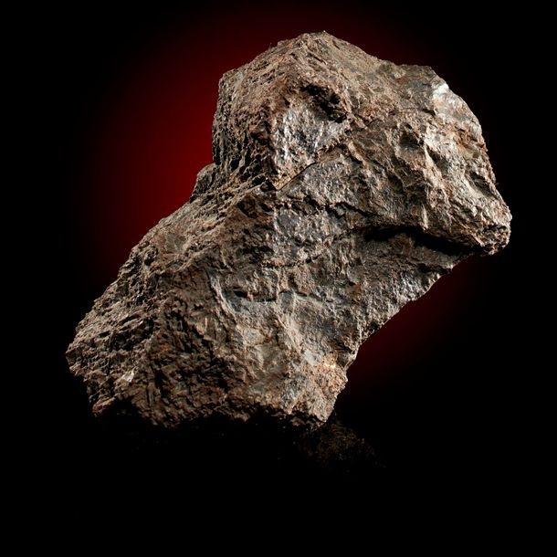 An iron meteorite, Nantan, China, 28cm, 12.7kg, First recorded witnessed fall of…