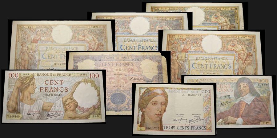 France France  100 Francs type 1906, avec Lom 02, 11.06.1908, Ref : F22.2, Conservation…