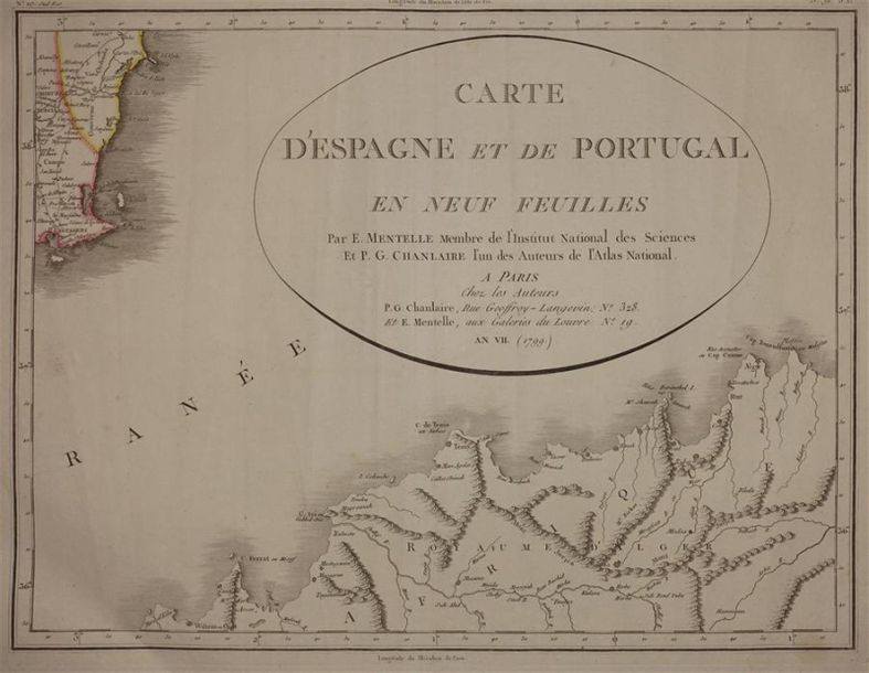L'Atlas des commercants (9 cartes).