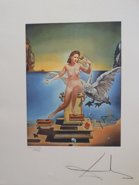 Lithograph, 65x50cm, hand numbered, signed in print, good condition
