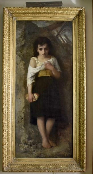 Francois Lafon (French 1845 - 1945) Oil on canvas. Signed lower left  Size: 57 ½…