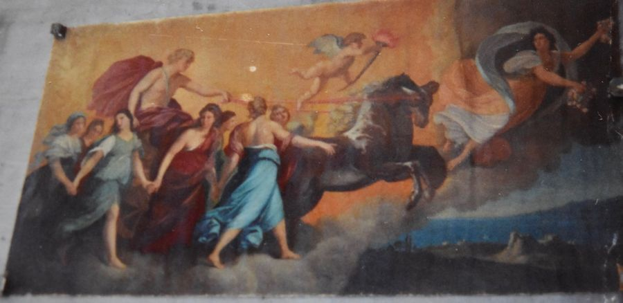 """19th Century. After Guido Reni Fresco Painting mural Aurora Goddess of the Dawn  """"The…"""