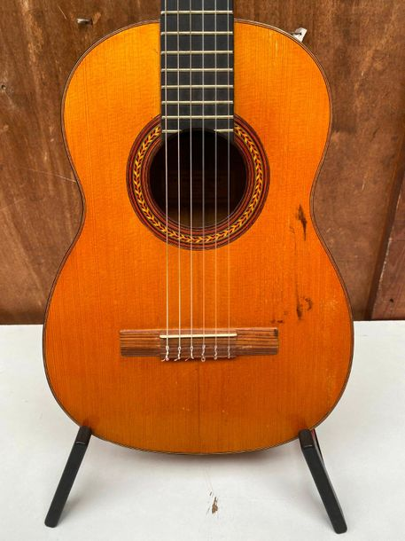 Collection Ricet Barrier Guitare espagnole de P.PANAGHI frères à Athènes,c.1930  Diapason…