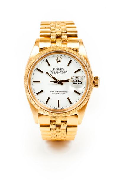 Rolex Rolex watch, Oyster Perpetual Datejust model. Chronometer automatic mechanical…