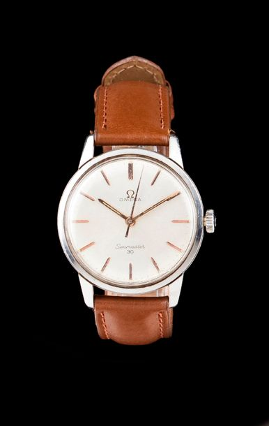 Omega Seamaster 30 Manual winding movement cal.286. Steel case with ref.135.007.…