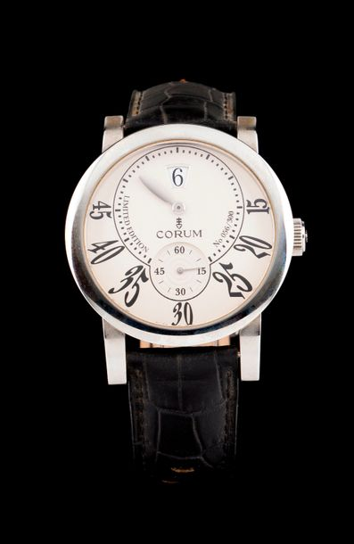 Corum Corum watch, jumping hours model. Nº56 of 300 timepieces from a limited edition.…