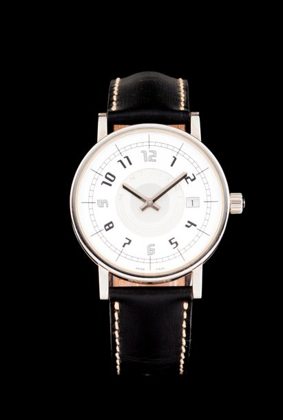 Montblanc Montblanc watch, Summit model. Quartz movement with date at 4h. Stainless…