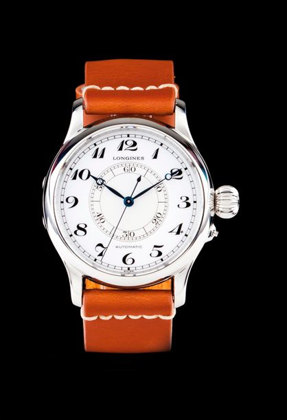 Longines Heritage Aviation model, ref.L2.713.4, numbered 466. Mechanic automatic…