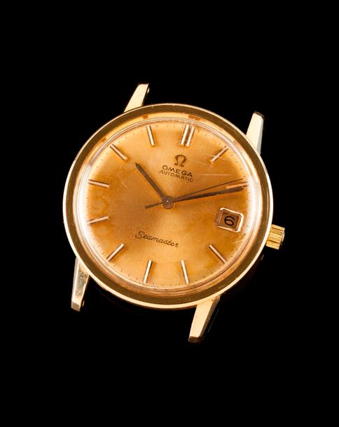 Omega Omega watch, seamastermodel. Automatic mechanical movement with date at 3h…