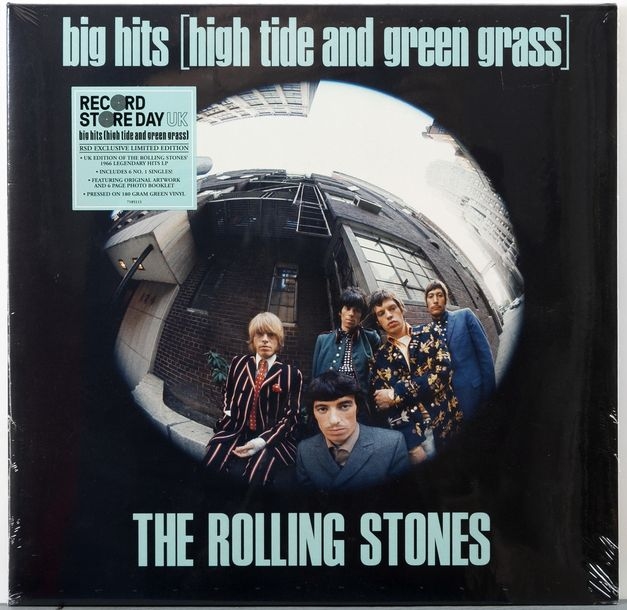 Record Store Day : Ensemble de 2 albums : - The Rolling Stones , Big Hits (High Tide…