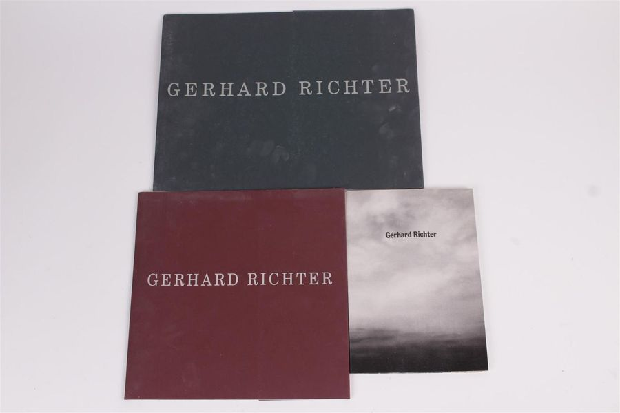 Gerhard RICHTER, Catalogue de l'exposition du 19 mars au 23 avril 1988 à la Gale…