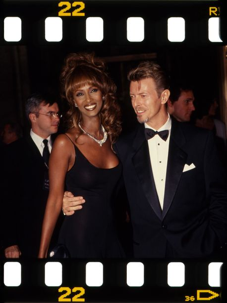 Rose Hartman David Bowie & Iman ,State Theatre NYC 1994  Rose Hartman photography…