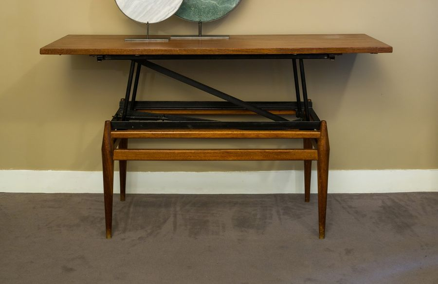 TRAVAIL DANOIS MODERNE Table basse formant console d'appui H (table basse): 48 c…