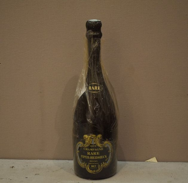 "1 bouteille CHAMPAGNE ""Rare"", Piper-Heidsieck 1979"