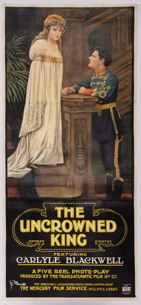 The uncrowned king (His royal Highness). Un film de Carlyle Blackwell. 1918. Affiche…