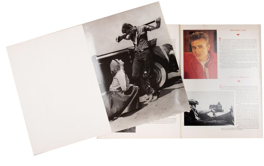 JAMES DEAN. The Classic Poster Book. Portfolio de 6 reproductions de James Dean…