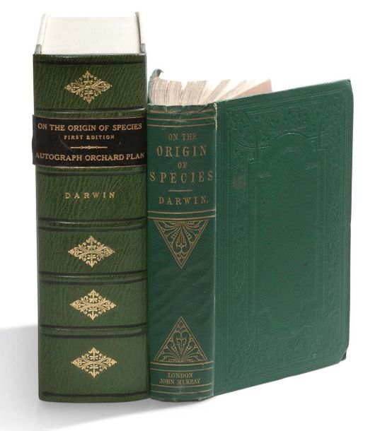 DARWIN CHARLES (1809-1882). On the Origin of Species by Means of Natural Selection,…