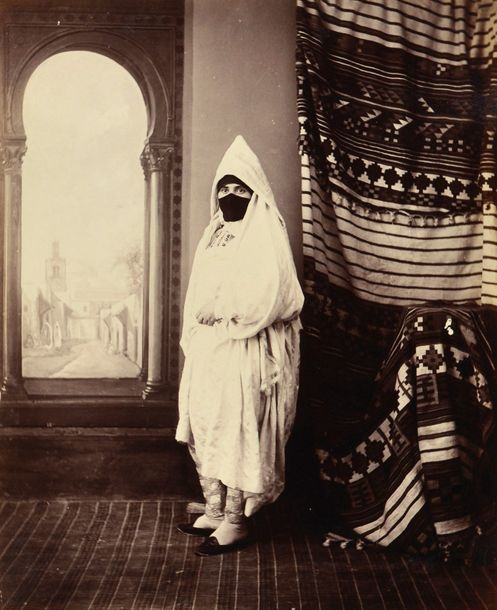 Photo Guarrigues et divers  Tunisie, c. 1870-1880.  Carthage. Marabout. Tunis. La…