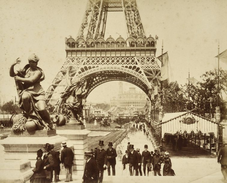 Paris  2 albums :  - Photographe non identifié  Paris. Exposition Universelle de…