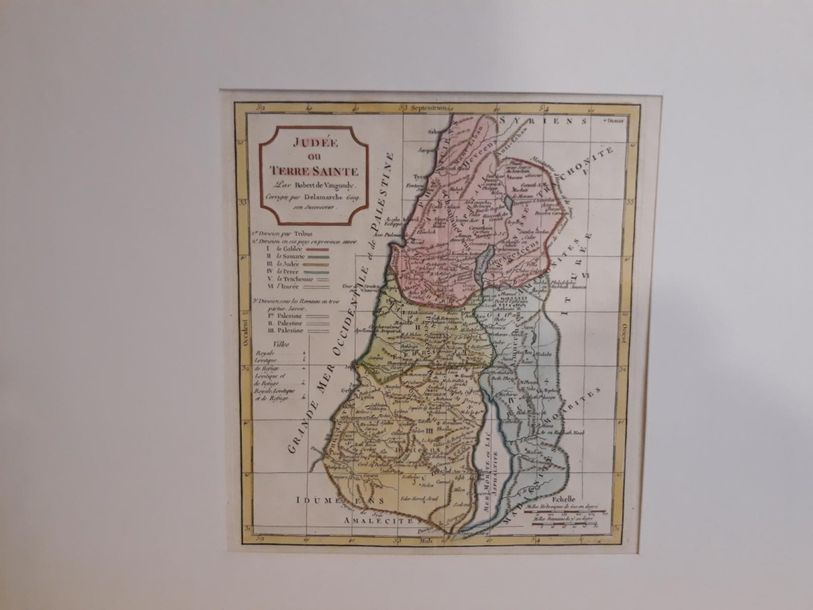 TURQUIE.PERSE.PALESTINE.SYRIE Lot d'environ 12 planches, gravures, lithographies…