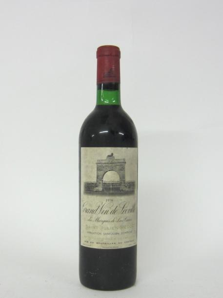 1 CH. LEOVILLE LAS CASES. SAINT JULIEN  1970