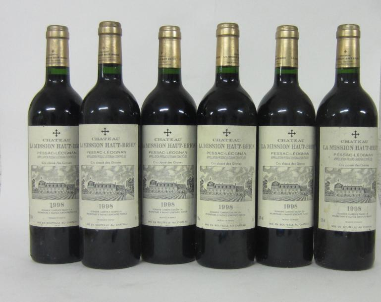 6 CH.LA MISSION HAUT BRION. PESSAC-LEOGNAN.GRAVES GCC. 1998