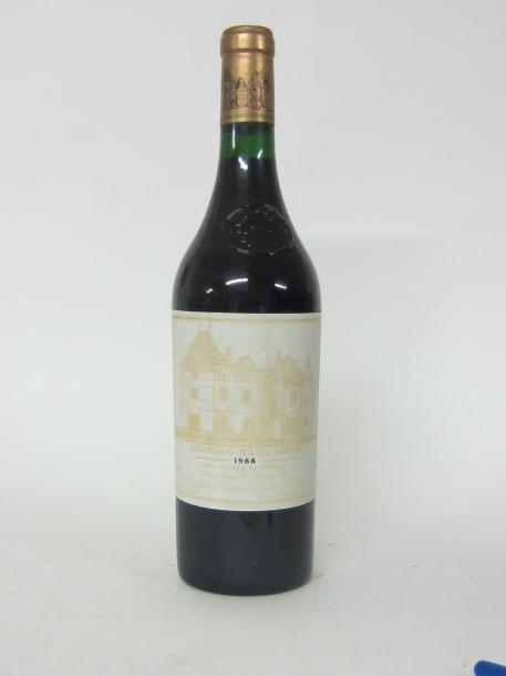 1 CH. HAUT BRION. GRAVES. 1ER GCC. 1988