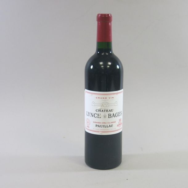 1 Bt LYNCH BAGES, GCC PAUILLAC, 2008, ELA