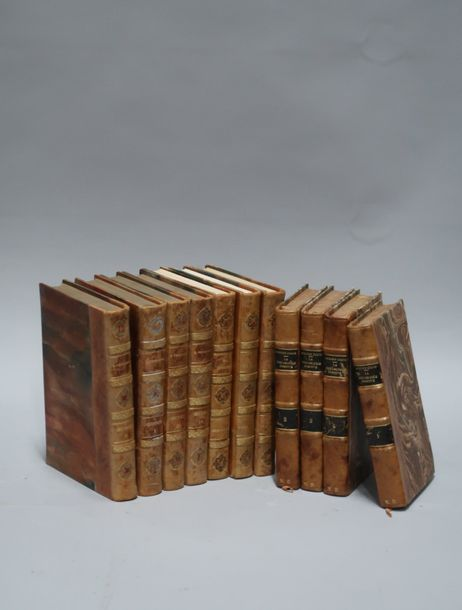 Sept volumes Verhaeren, quatre volumes Auguste Comte