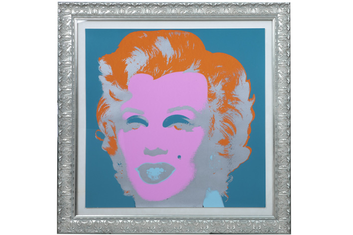 "WARHOL ANDY (1930 - 1987) WARHOL ANDY (1930 - 1987) zeer zeldzame screenprint (""printer…"